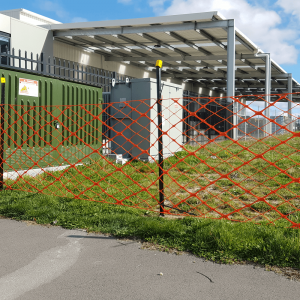 High Visibility Fence